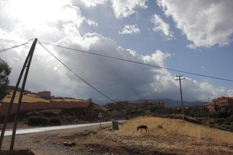 Heading into the Atlas Mountains
