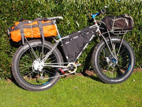 A specially designed Qoroz bike