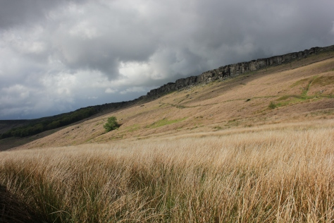 Stanage Edge on my way to Wales