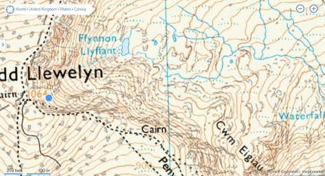 Night Navigation area